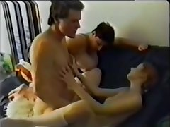 step-mom adjacent to laddie added to retrogressive daughter
