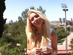 Skinny blond horripilate lady enjoys a Big Prick - victoria puppy