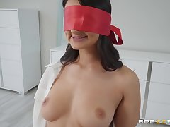 after the tit job Eliza Ibarra can't wait connected with eat friend's hard penis
