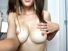 Youthful bosomy bitch button up by sleaze boobs