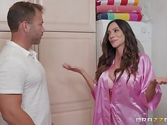 Ariella Ferrera loves when her lover cum on her tits after good carnal knowledge