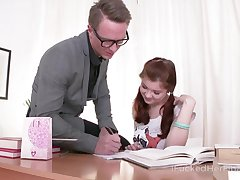 Lovely Russian partisan Olga allows to invade her super selfish teen anus